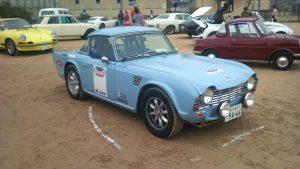 1962 Triumph TR-4 Rally